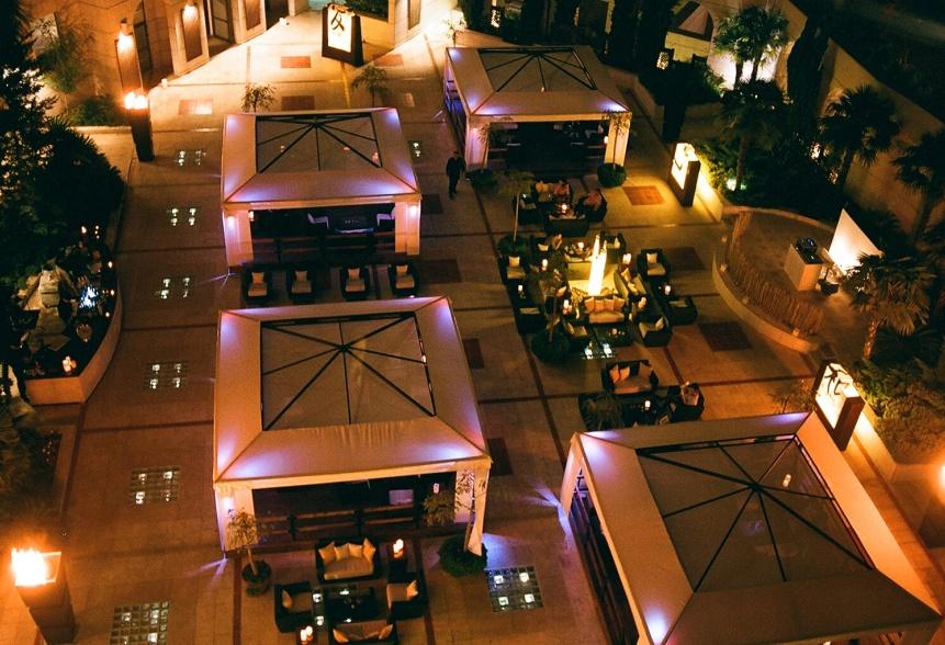 The Sanctuary - Top View. Credit: Thesanctuarylounge.com