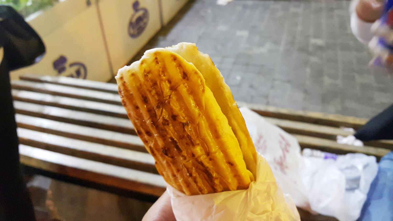 Falafel Sandwich 1