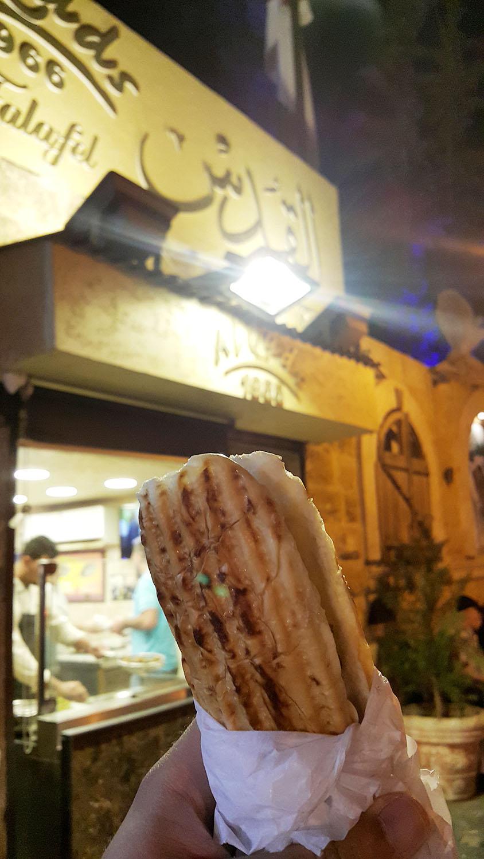 Falafel Sandwich 2