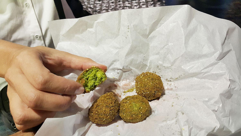 Individual Falafel Pieces - Al Quds Falafel - Credit: thespotist.com