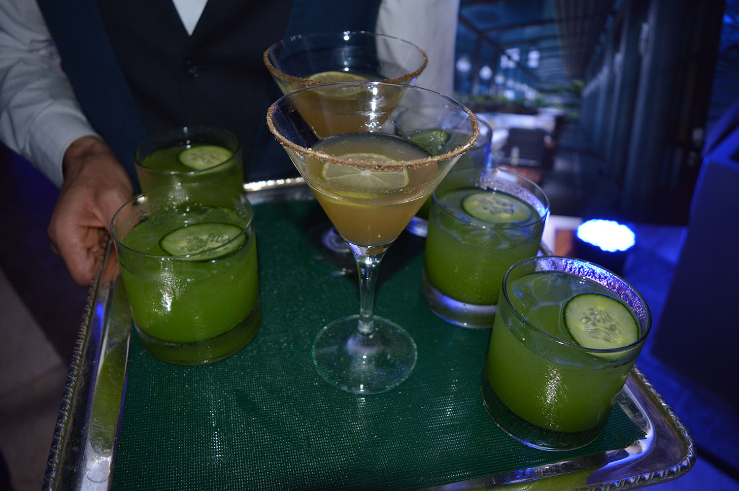 Cardamom and Thyme Cocktails - Photo credit: thespotist.com