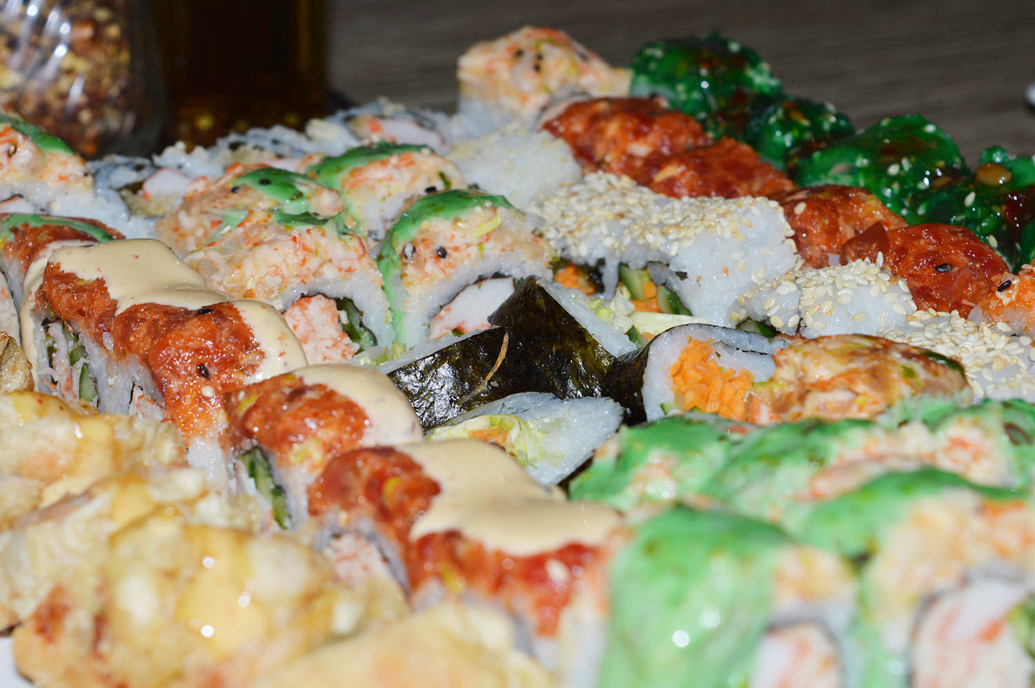All You Can Eat Sushi @ Trattoria - Photo Credit: thespotist.com