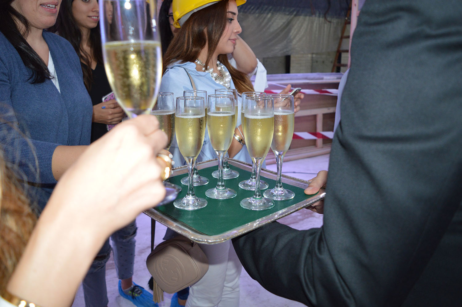 During the Hard Hat Tour - Photo Credit: thespotist.com